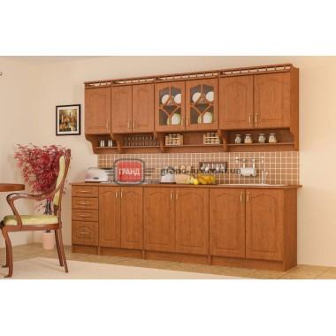 Кухня Корона 2.6 (Мебель Сервис)