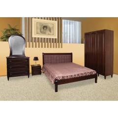 Кровать Севилья (орех)  (Модуль люкс)