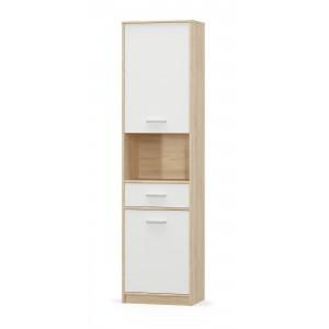 Пенал 2Д1Ш Типс (Мебель Сервис)