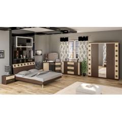 Спальня София 4Д (Мебель Сервис)