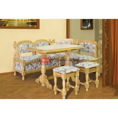 Кухонный уголок - кож.зам  (Мебель Сервис)