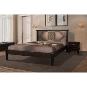 Кровать Классик орех  (Модуль Люкс)