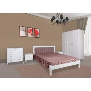 Кровать Севилья (белая)  (Модуль люкс)