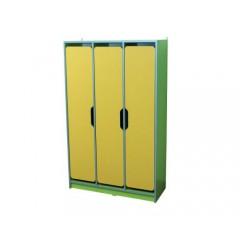 Шкаф детский 3-местный для раздевалки