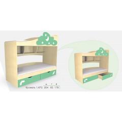 Кровать Дисней КР2 (Модерн)