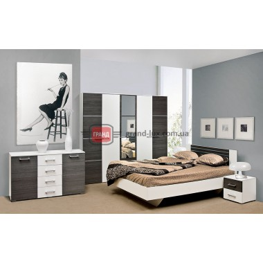 """Спальня """"Круиз""""3Д (Світ меблів)"""
