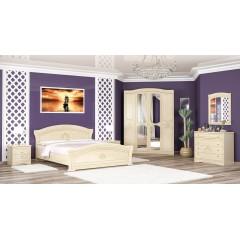 Спальня Милано 4Д (Мебель Сервис)