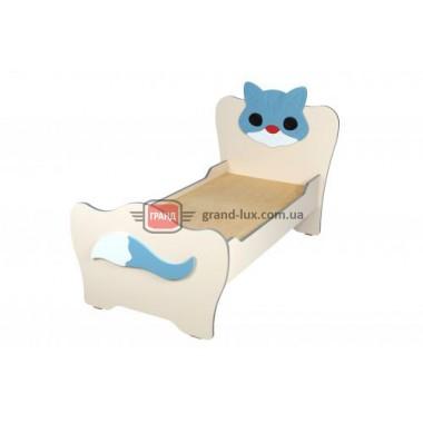 Кровать детская без матраса Котенок