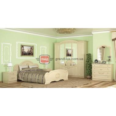 Спальня Барокко 4Д (Мебель Сервис)