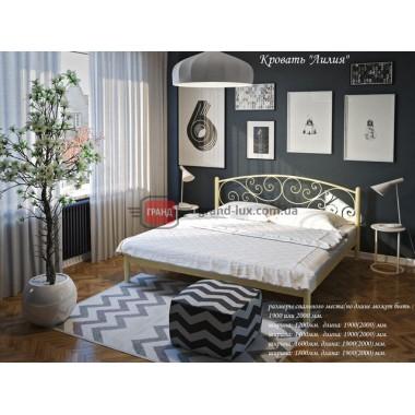 Металлическая кровать Лилия (Тенеро)