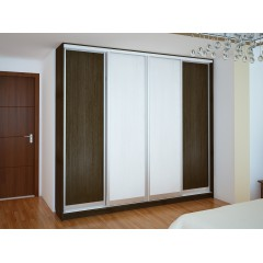 Шкаф-4дв. 2600*2400*450 (Мебель Стар)
