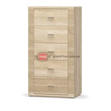 Комод Гресс 5Ш (Мебель Сервис)