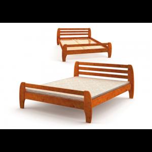 Кровать деревянная Милан (Mebigrand)