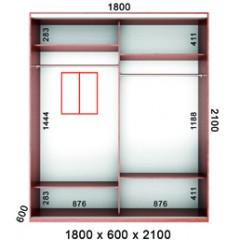 Шкаф Серия-8,9,10  2дв. (БМФ)