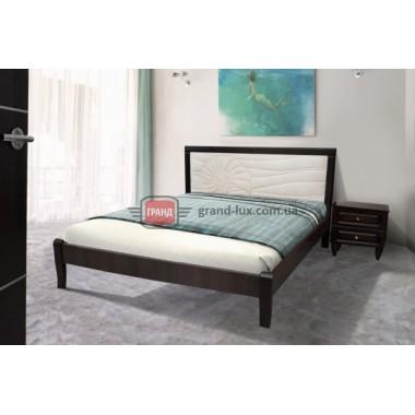 Кровать Стелла орех темный (Модуль Люкс)