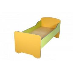 Кровать детская без матраца с высокими перилами