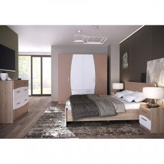 Спальня Капучино (Феникс Мебель)