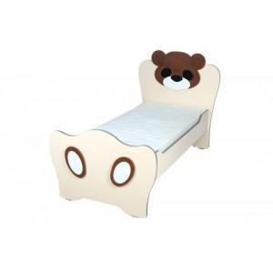 Кровать детская без матраса Медвежонок