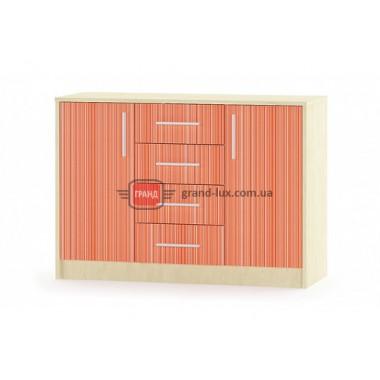 Комод Симба 2Д4Ш (Мебель Сервис)