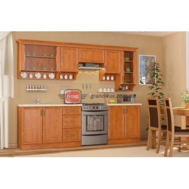 Кухня Каролина 2.6 (Мебель Сервис)