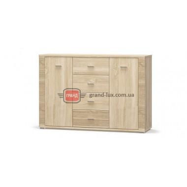 Комод 2Д4Ш Гресс (Мебель Сервис)