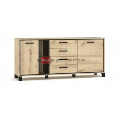 Комод 2Д4Ш Велс (Мебель Сервис)