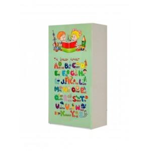 Шкаф 2д Мульти Алфавит (Світ Меблів)