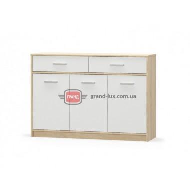 Комод Типс 3Д2Ш (Мебель Сервис)