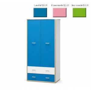 Шкаф 2Д2Ш Лео (Мебель Сервис)
