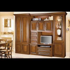 Гостиная Капри шкаф (Скай)