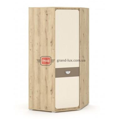Шкаф угловой 1Д Лами (Мебель Сервис)
