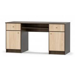 Стол письменный 2Д2Ш Фантазия New (Мебель Сервис)