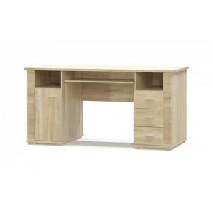 Стол письменный 1Д 3Ш Гресс (Мебель Сервис)