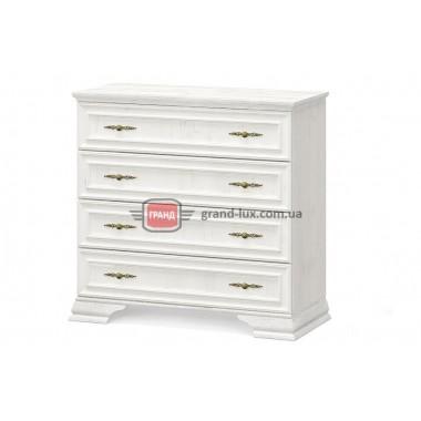 Комод Ирис 4Ш (Мебель Сервис)