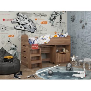 Кровать двухьярусная КД-04 (Maxi Мебель)