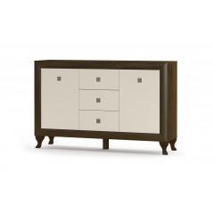 Комод Парма 2Д3Ш (Мебель Сервис)