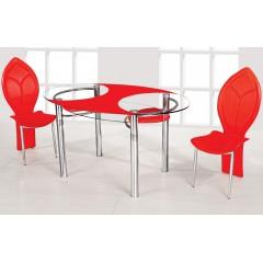 Стол стеклянный - 01 (ESCADO)