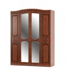 Шкаф Милано 4Д (Мебель Сервис)