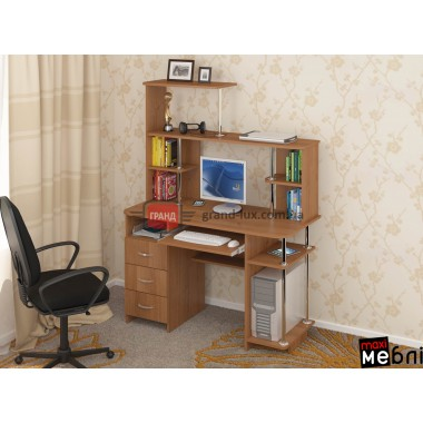 Стол компьютерный СКП-01 (Maxi Мебель)