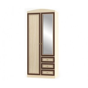 Шкаф 2Д3Ш Дисней (Мебель Сервис)
