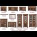 Гостиная система Гранда (Скай)