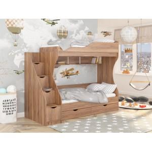 Кровать двухьярусная КД-01 (Maxi Мебель)
