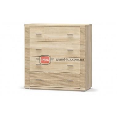 Комод 4Ш Гресс (Мебель Сервис)