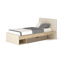 Кровать 900 с ящиком Лами (Мебель Сервис)