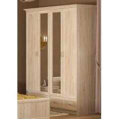 Шкаф Соната 4Д (Мебель Сервис)