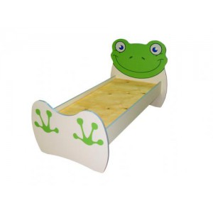Кровать детская Лягушонок, без матраса