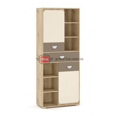 Пенал 2Д1Ш 80 Лами (Мебель Сервис)