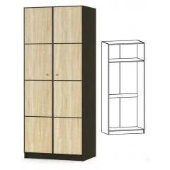 Шкаф 2Д Фантазия New (Мебель Сервис)