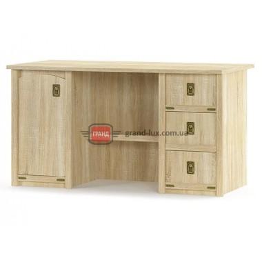 Стол письменный 1Д 3Ш Валенсия (Мебель Сервис)