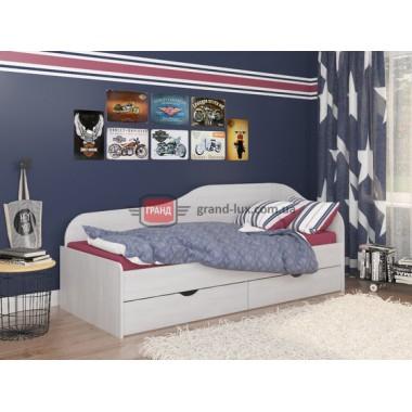 Кровать односпальная Оскар (Maxi Мебель)